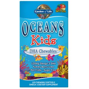 Oceans Kids DHA Chewables - Kwasy Omega 3 Garden of life
